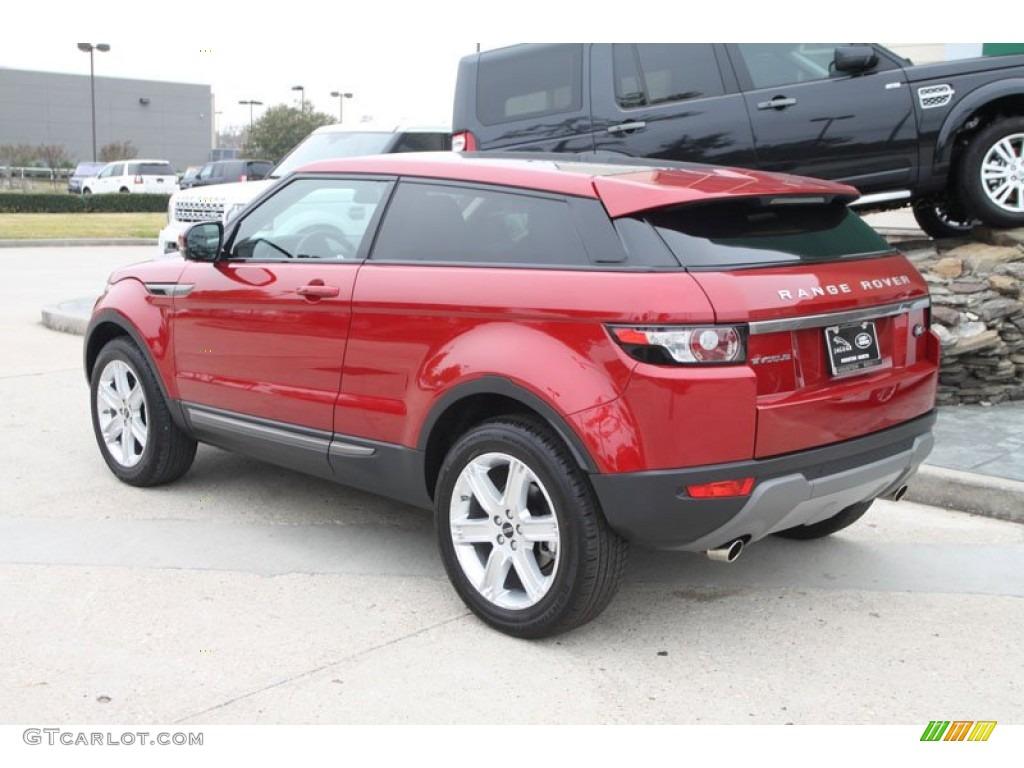 2012 Firenze Red Metallic Land Rover Range Rover Evoque