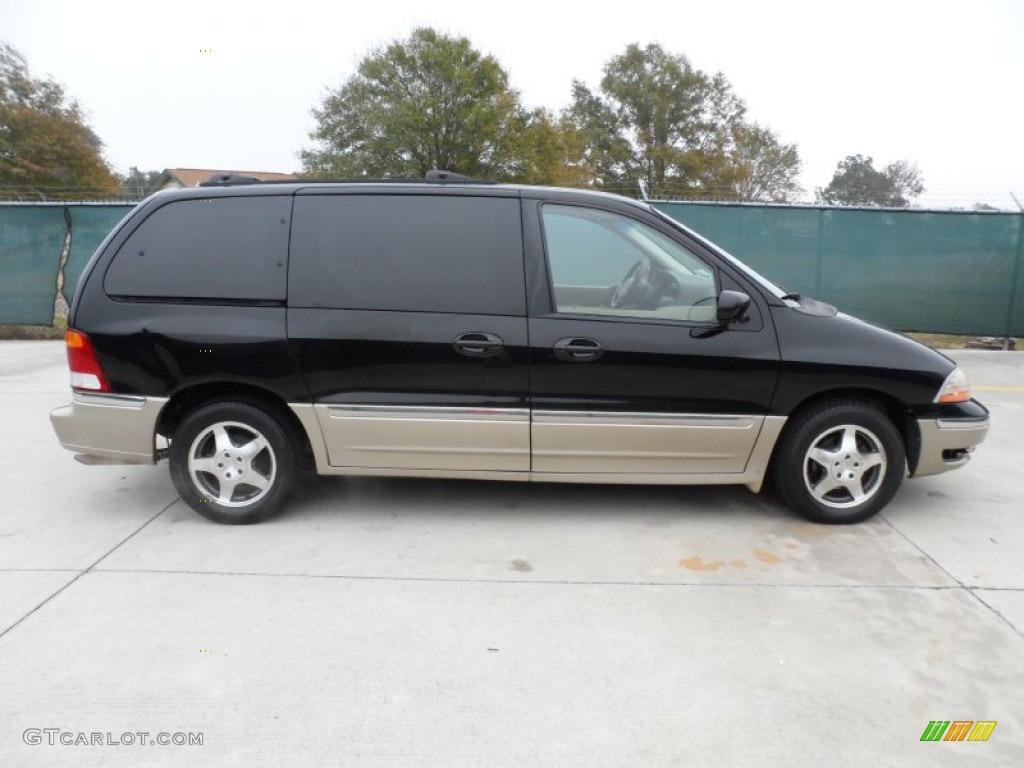 Black 2000 Ford Windstar SEL Exterior Photo #58210194 ...