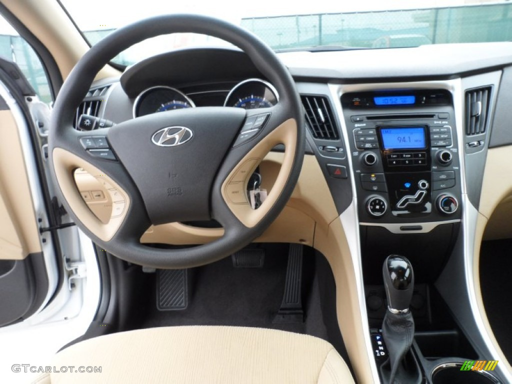 2011 Hyundai Sonata Gls Camel Dashboard Photo 58210892