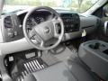 2012 Black Chevrolet Silverado 1500 LS Extended Cab  photo #9