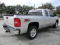 2012 Silver Ice Metallic Chevrolet Silverado 1500 LT Extended Cab  photo #3