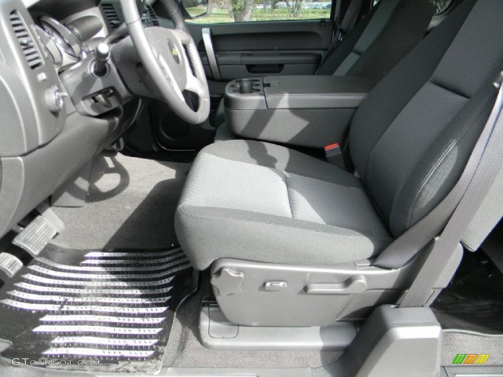 2012 Silverado 1500 LT Extended Cab - Silver Ice Metallic / Ebony photo #7