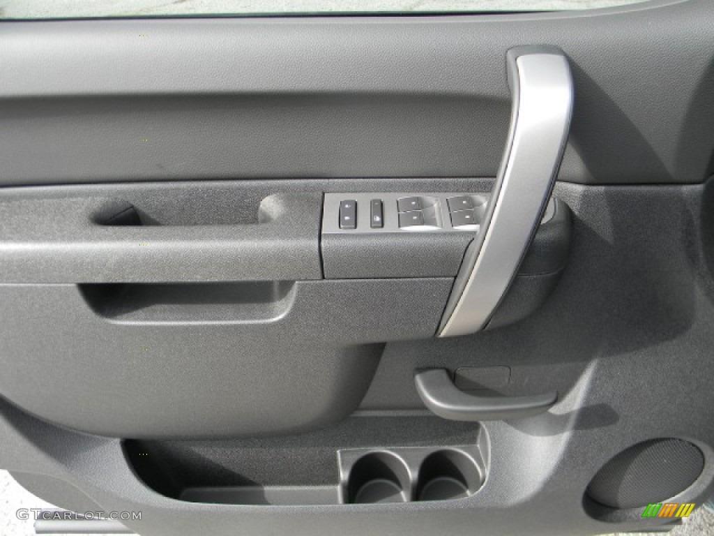 2012 Silverado 1500 LT Extended Cab - Silver Ice Metallic / Ebony photo #12