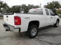 2012 Summit White Chevrolet Silverado 1500 LS Extended Cab 4x4  photo #3