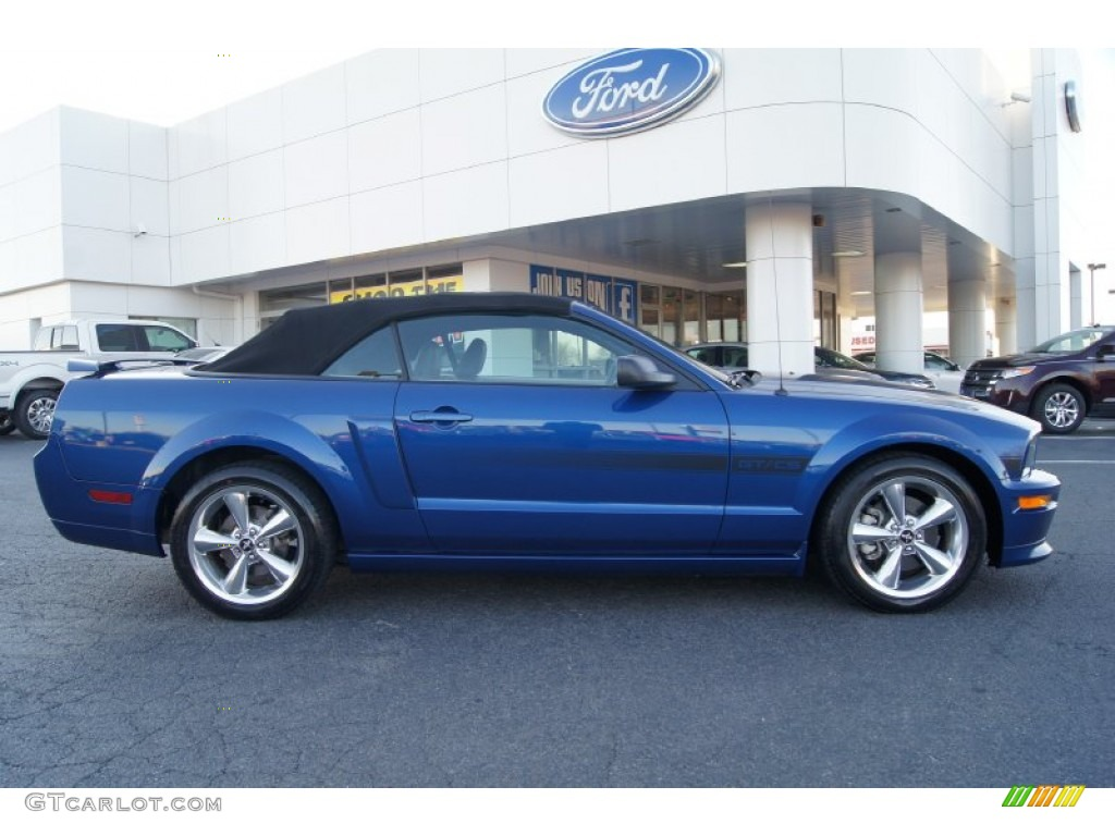 2009 Ford Mustang Blue Vista Blue Metallic 2009 Ford