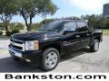 2011 Black Chevrolet Silverado 1500 LT Crew Cab  photo #1
