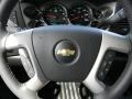 2011 Black Chevrolet Silverado 1500 LT Crew Cab  photo #11