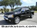 2011 Black Chevrolet Silverado 1500 LT Crew Cab  photo #1
