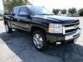 2011 Black Chevrolet Silverado 1500 LT Crew Cab  photo #2