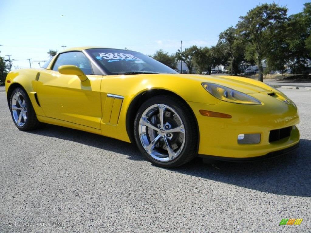 velocity yellow 2011 chevrolet corvette grand sport coupe. Black Bedroom Furniture Sets. Home Design Ideas