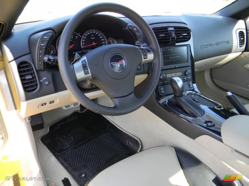 2011 Chevrolet Corvette Grand Sport Coupe Cashmere Dashboard Photo 58231241