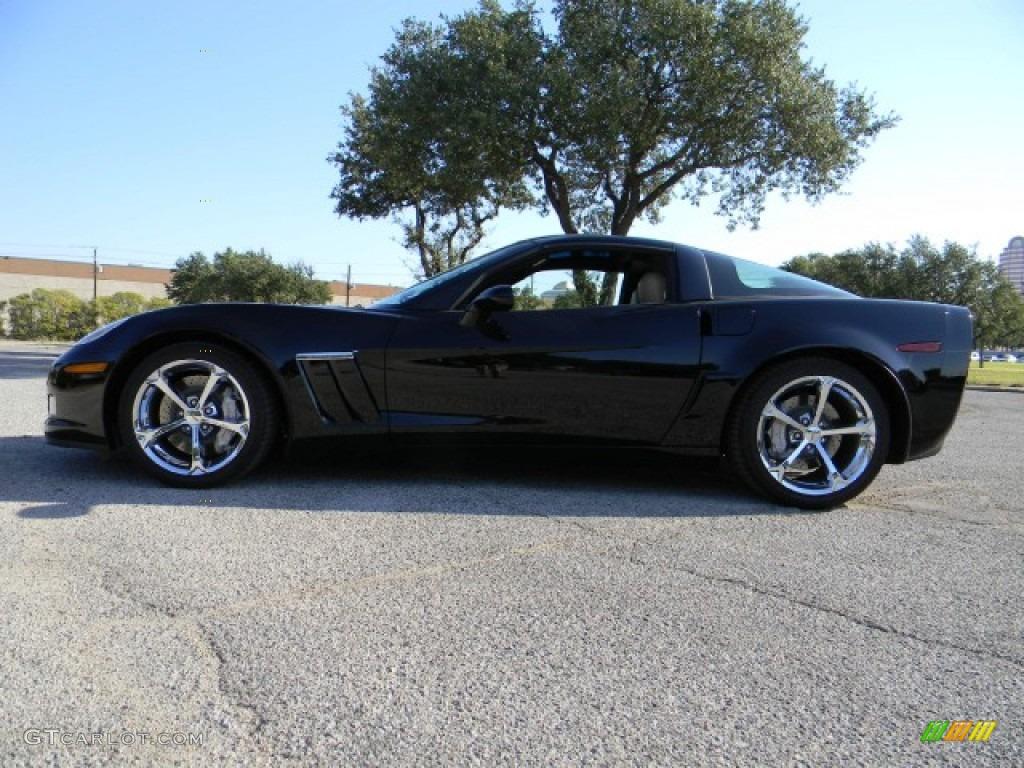 black 2011 chevrolet corvette grand sport coupe exterior. Black Bedroom Furniture Sets. Home Design Ideas