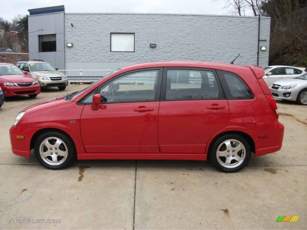 2004 racy red suzuki aerio sx sport wagon 58238678 photo 2 gtcarlot com car color galleries gtcarlot com