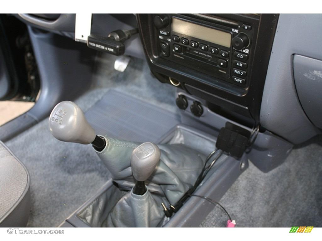 2000 Toyota Tacoma SR5 Extended Cab 4x4 5 Speed Manual Transmission Photo  #58240567