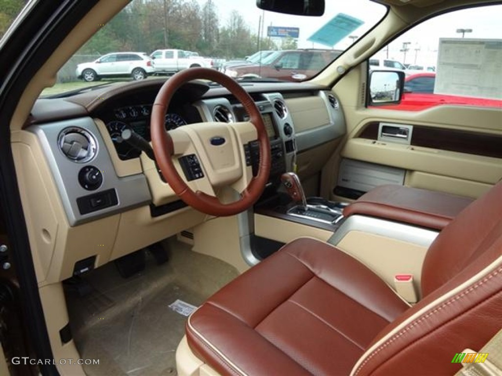King Ranch Chaparral Leather Interior 2012 Ford F150 King Ranch
