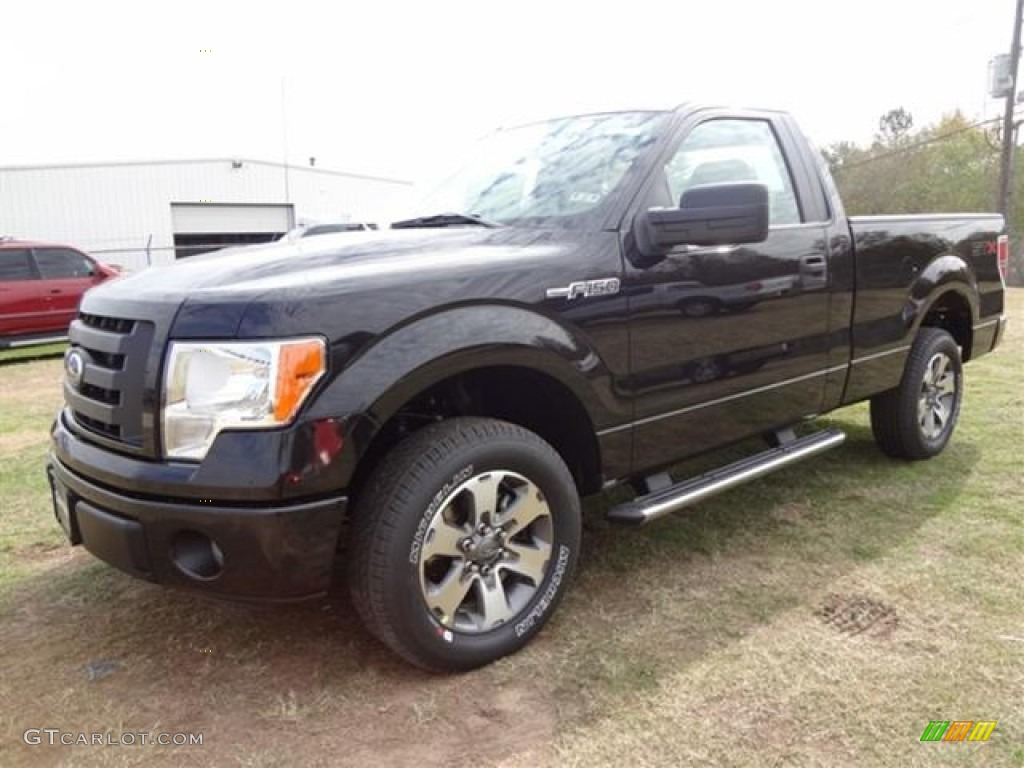 tuxedo black metallic 2012 ford f150 stx regular cab exterior photo 58264531. Black Bedroom Furniture Sets. Home Design Ideas