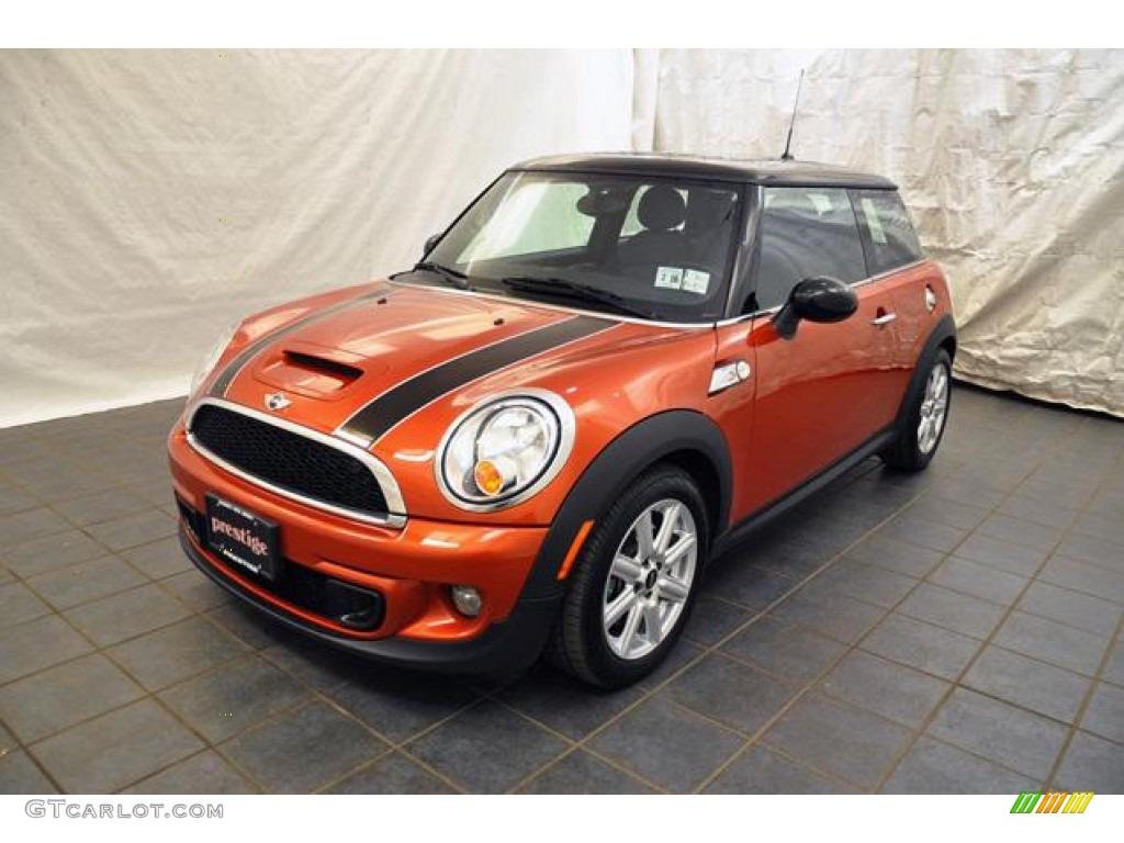 2011 spice orange metallic mini cooper s hardtop 57969353 car color galleries. Black Bedroom Furniture Sets. Home Design Ideas