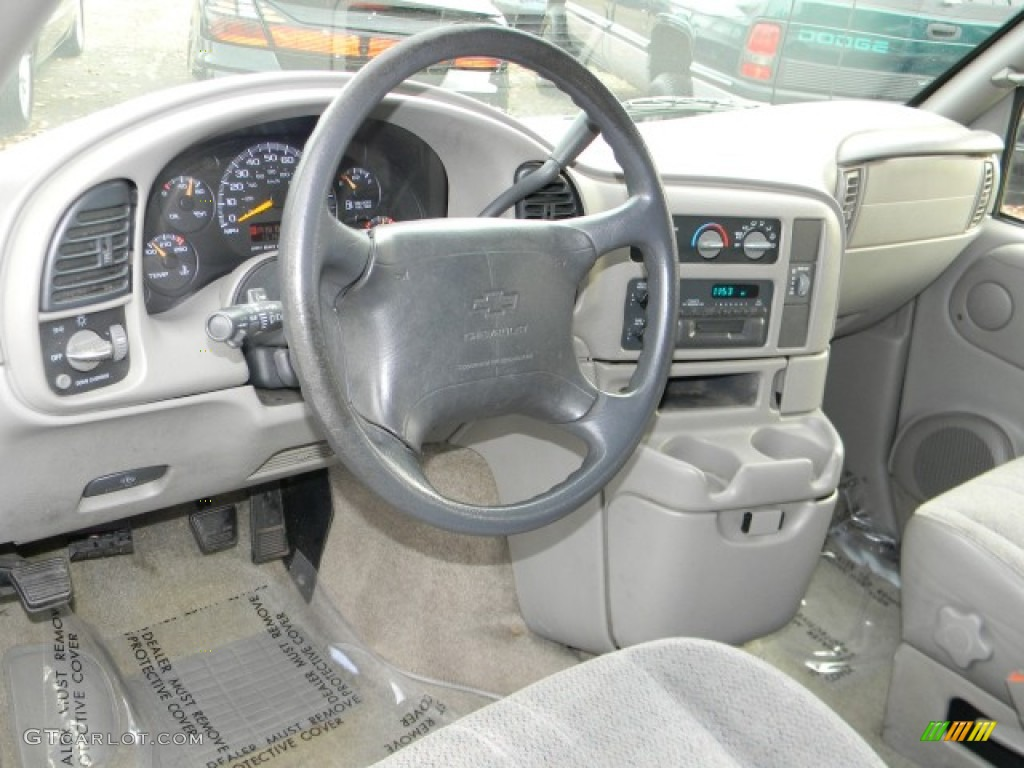 1998 Chevrolet Astro Awd Penger Van Gray Dashboard Photo 58272038