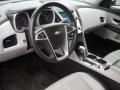Jet Black/Light Titanium Interior Photo for 2010 Chevrolet Equinox #58279109