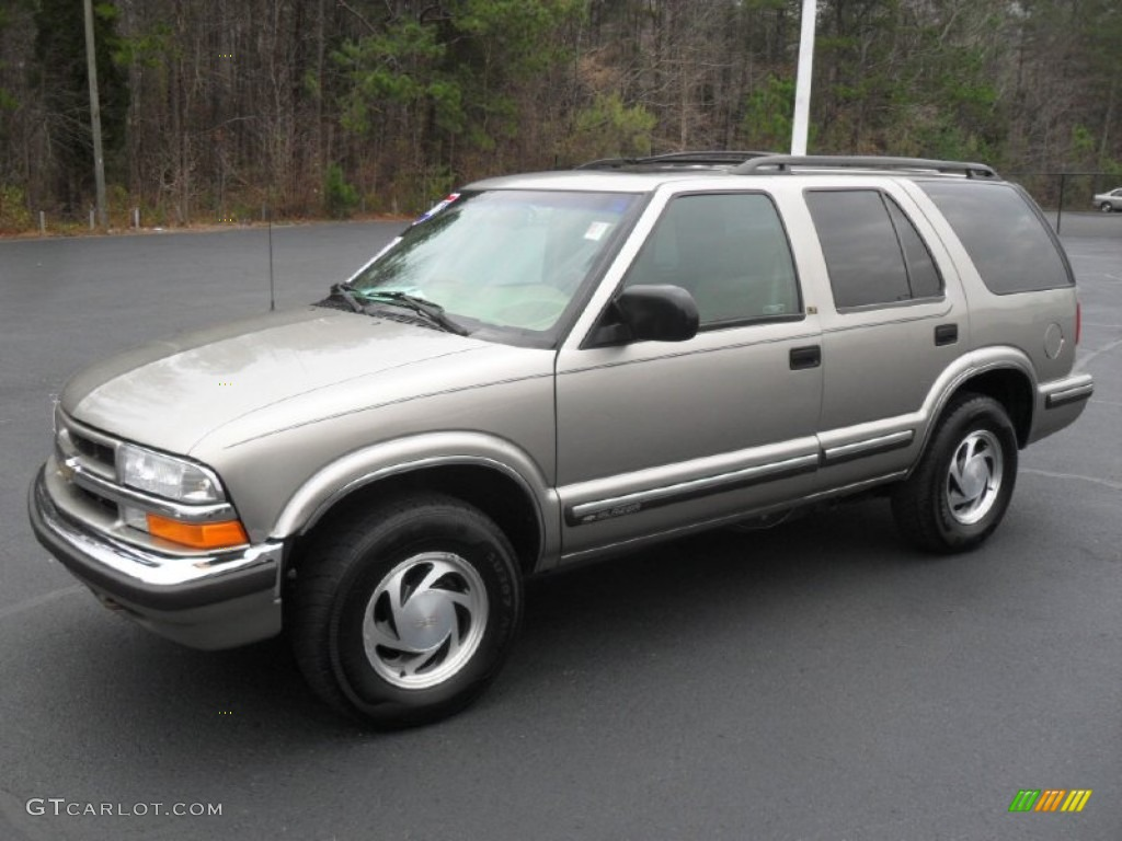 Light Pewter Metallic 1999 Chevrolet Blazer LT 4x4 Exterior Photo