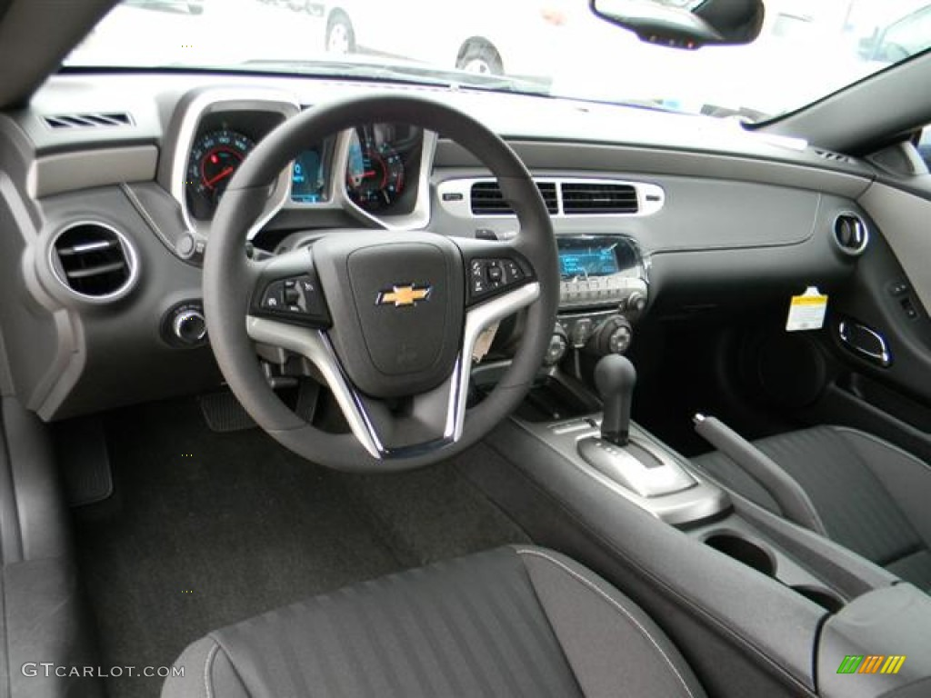 Black Interior 2012 Chevrolet Camaro Ls Coupe Photo