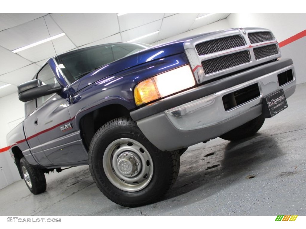 2001 patriot blue pearl dodge ram 2500 st quad cab 58239094 car color galleries. Black Bedroom Furniture Sets. Home Design Ideas
