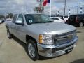 2012 Silver Ice Metallic Chevrolet Silverado 1500 LT Crew Cab  photo #3