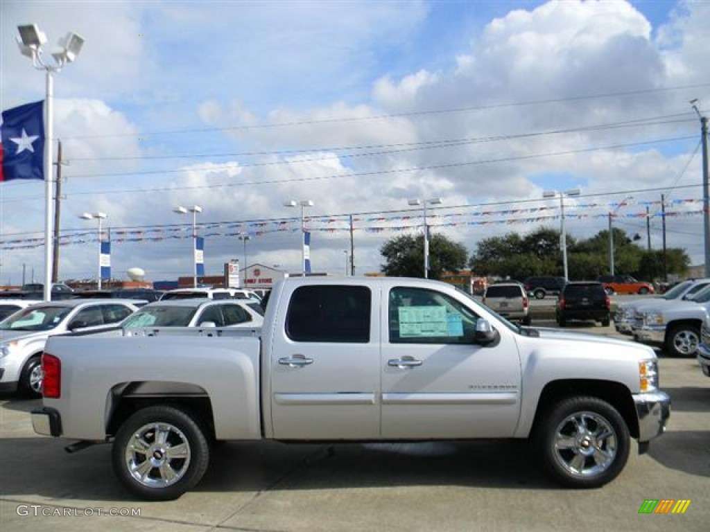 2012 Silverado 1500 LT Crew Cab - Silver Ice Metallic / Ebony photo #4