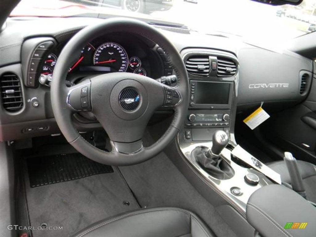 2012 Chevrolet Corvette Zr1 Ebony Dashboard Photo