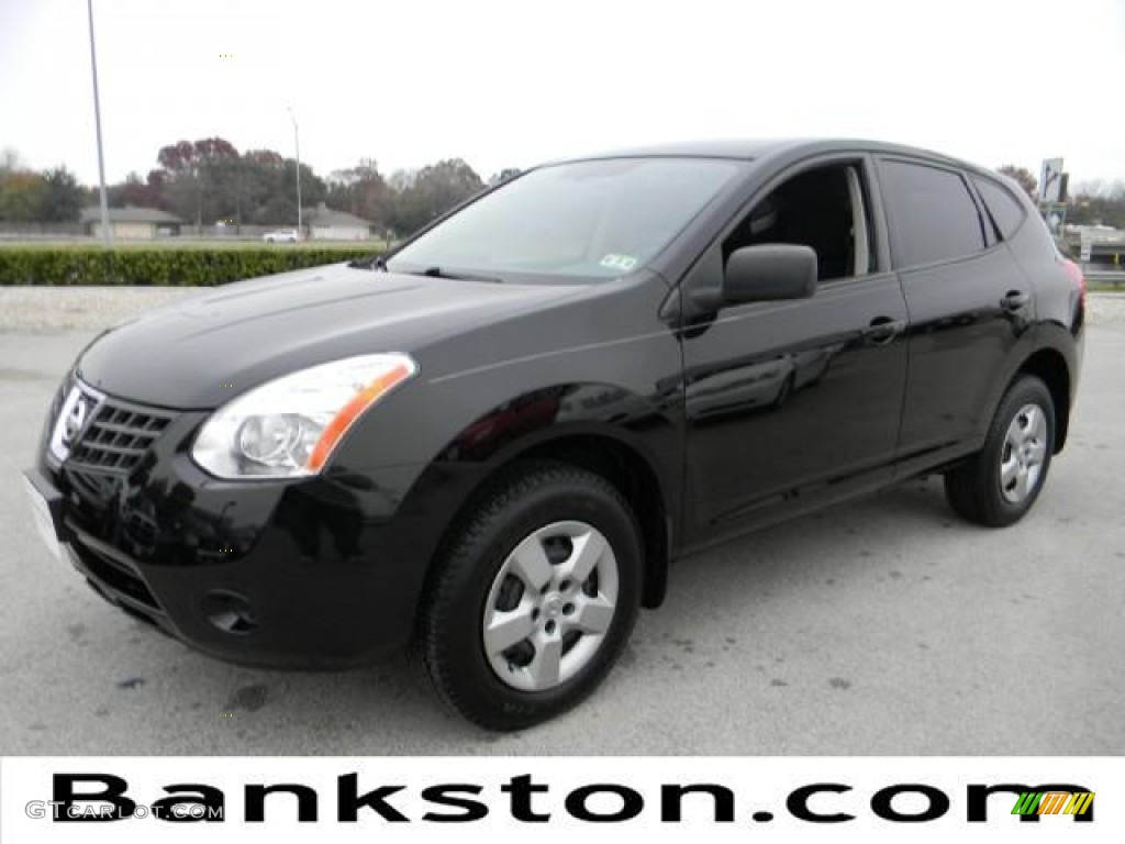 Wicked black nissan rogue