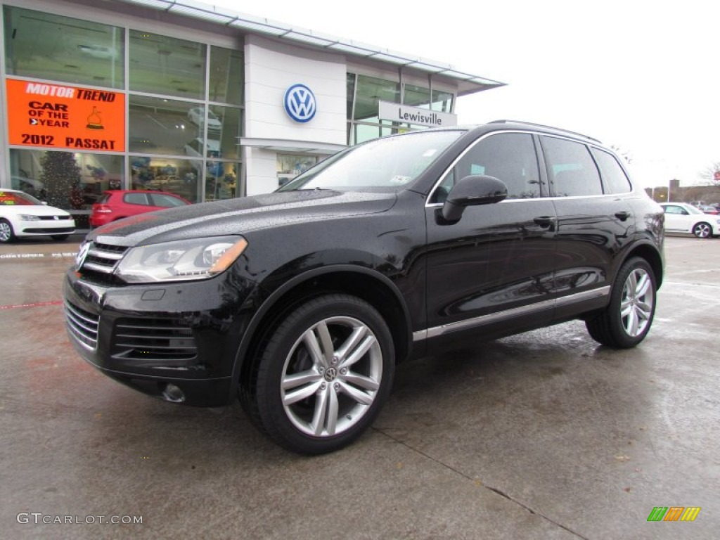2011 Black Volkswagen Touareg Tdi Executive 4xmotion 58238980 Gtcarlot Com Car Color Galleries