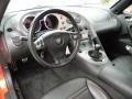 2009 Pontiac Solstice Ebony/Red Stitching Interior Dashboard Photo