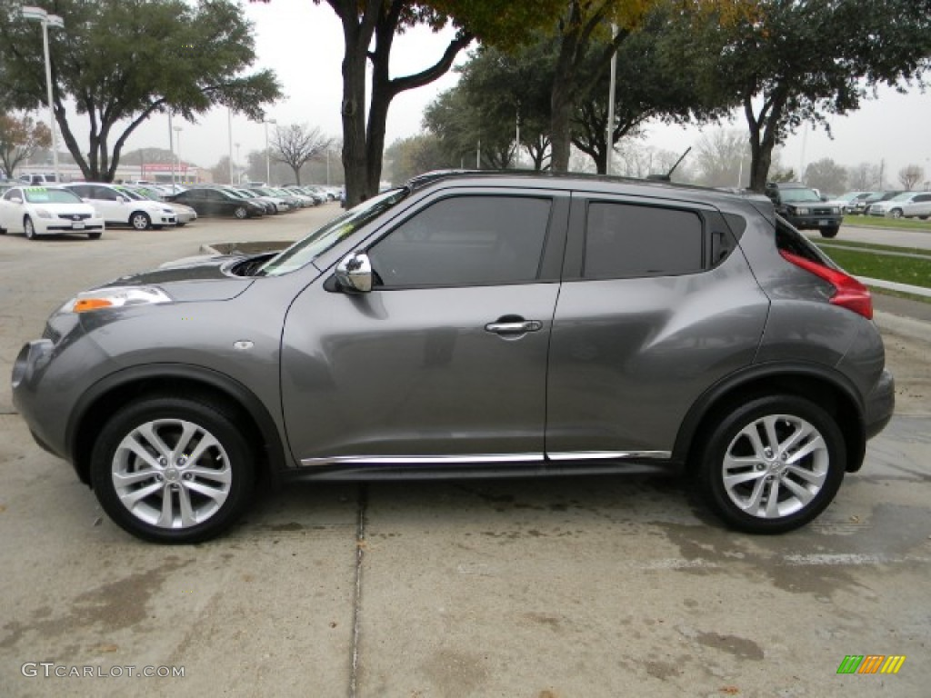 Gun Metallic 2011 Nissan Juke Sl Exterior Photo 58318614