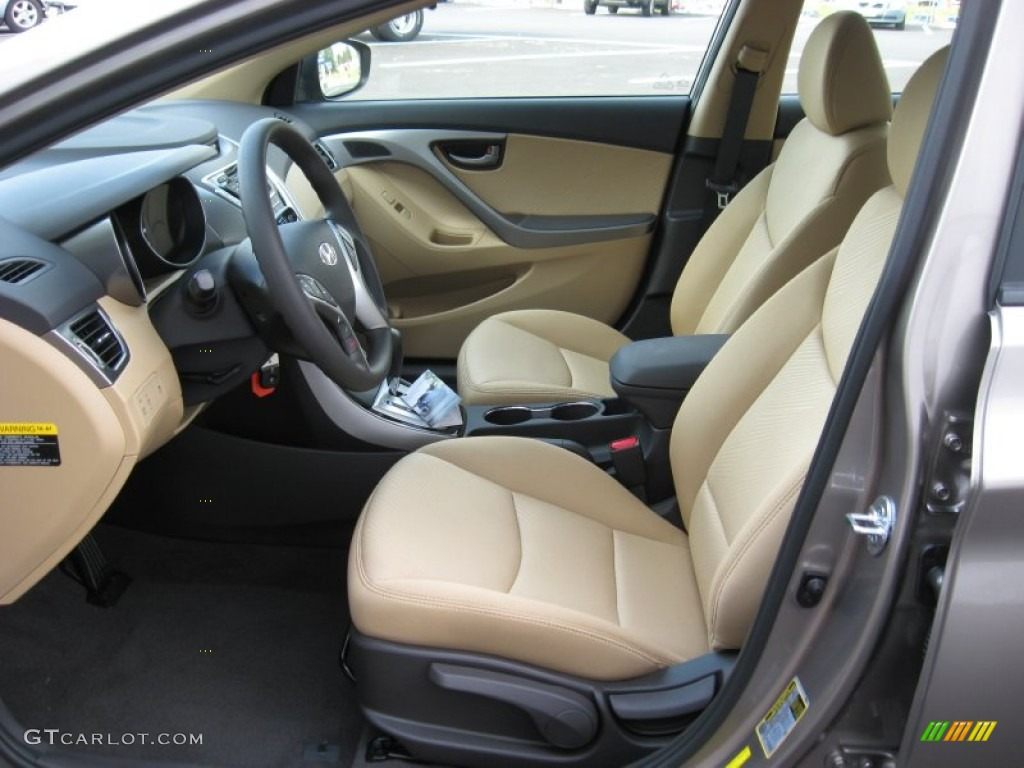 2012 Desert Bronze Hyundai Elantra Gls 58090084 Photo 13 Car Color Galleries