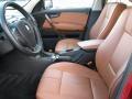 2009 BMW X3 Saddle Brown Nevada Leather Interior Interior Photo