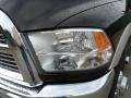 2010 Brilliant Black Crystal Pearl Dodge Ram 3500 Laramie Crew Cab 4x4 Dually  photo #9
