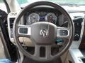 2010 Brilliant Black Crystal Pearl Dodge Ram 3500 Laramie Crew Cab 4x4 Dually  photo #42