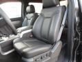 2012 F150 SVT Raptor SuperCrew 4x4 Raptor Black Leather/Cloth Interior