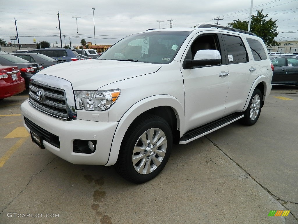 2012 blizzard white pearl toyota sequoia platinum 57874679 car color galleries. Black Bedroom Furniture Sets. Home Design Ideas