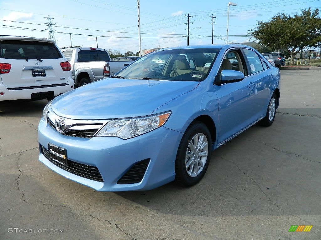 clearwater blue metallic 2012 toyota camry le exterior photo 58344476. Black Bedroom Furniture Sets. Home Design Ideas