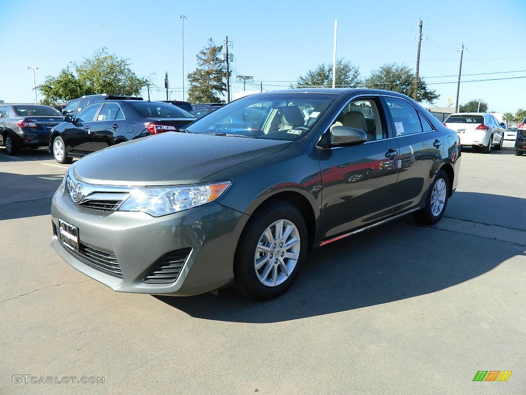 2012 cypress green pearl toyota camry le 57874650 car color galleries. Black Bedroom Furniture Sets. Home Design Ideas