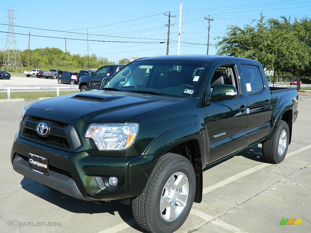 Attractive Spruce Green Mica 2012 Toyota Tacoma V6 TRD Sport Double Cab 4x4 Exterior  Photo #58348289
