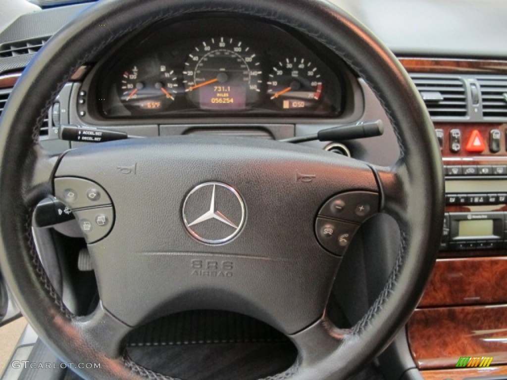 2002 mercedes benz e 320 4matic wagon steering wheel for Mercedes benz steering wheel control buttons