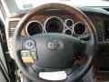 Redrock/Black Steering Wheel Photo for 2011 Toyota Tundra #58352269