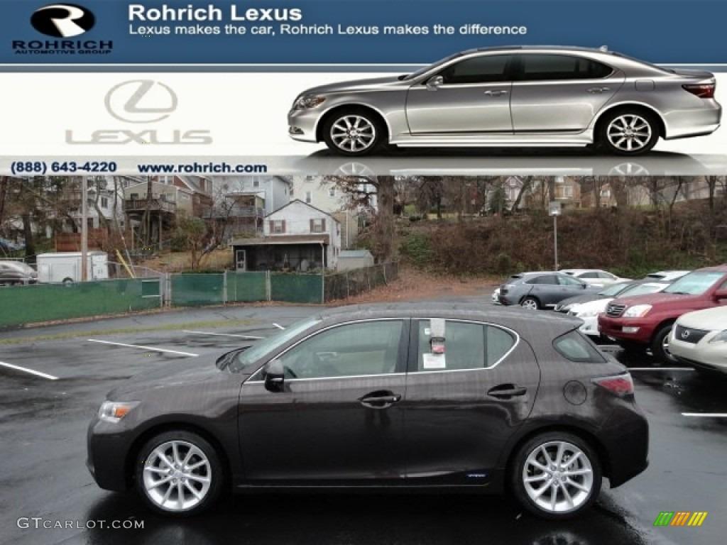 2012 fire agate pearl lexus ct 200h hybrid premium