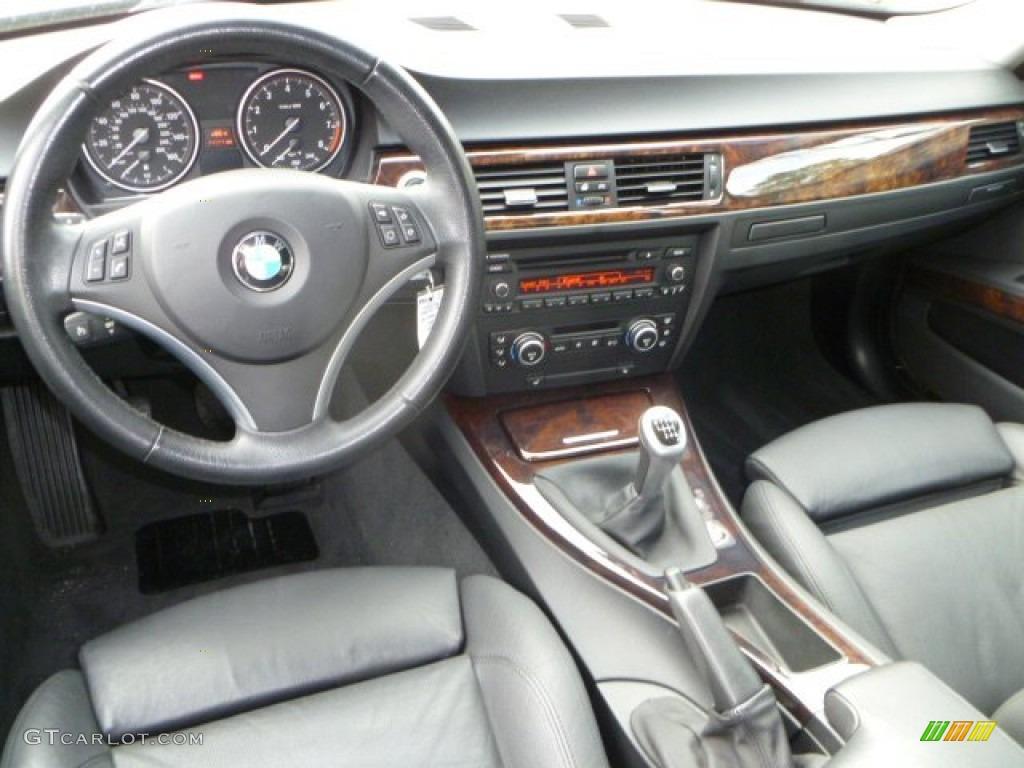 Black Interior 2008 Bmw 3 Series 335i Sedan Photo