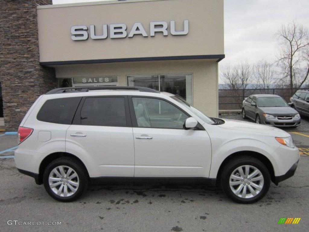Satin White Pearl 2012 Subaru Forester 2 5 X Premium Exterior Photo 58365108