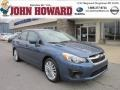 Marine Blue Pearl - Impreza 2.0i Premium 4 Door Photo No. 1