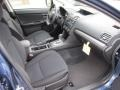 2012 Impreza 2.0i Premium 4 Door Black Interior