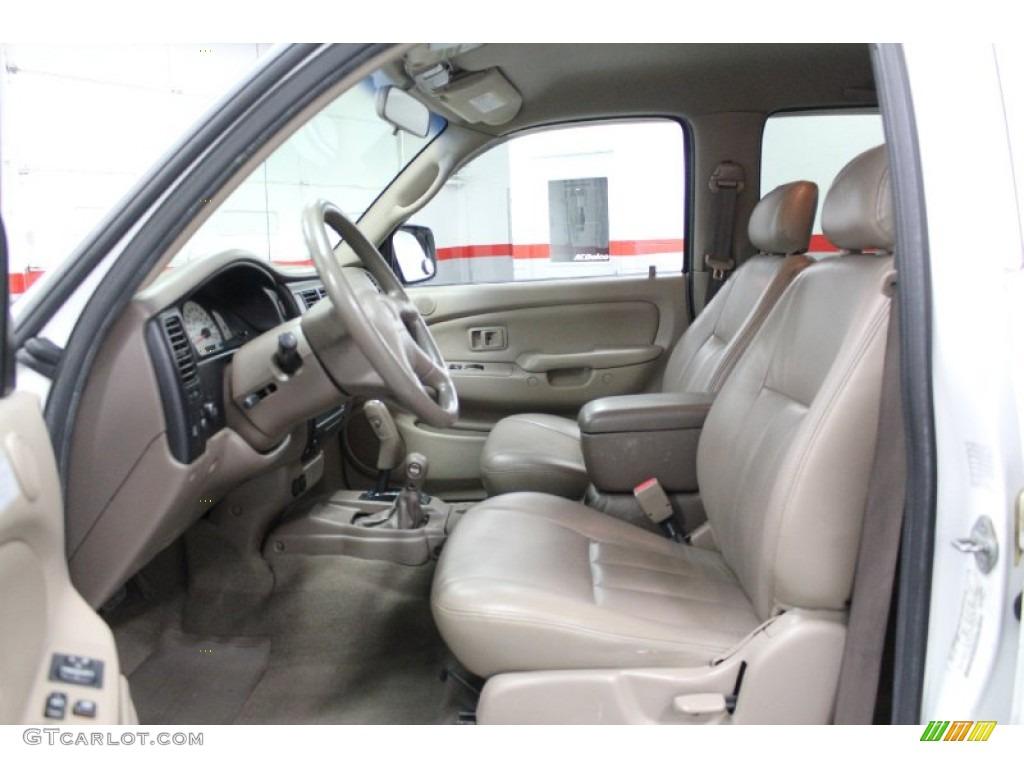 Oak beige interior 2001 toyota tacoma v6 trd double cab - 1997 toyota tacoma interior parts ...